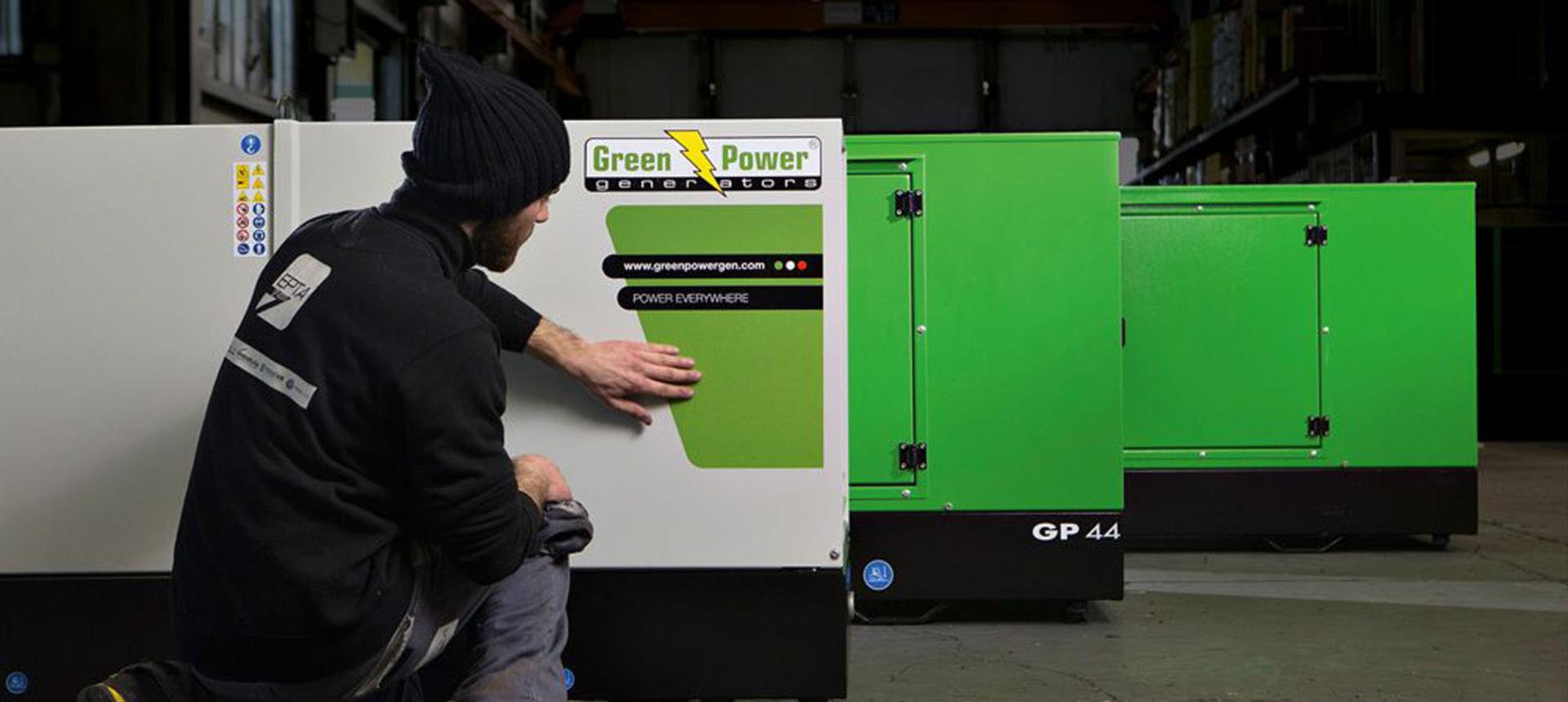 Green-Power-GP44 generators - HI Engineering